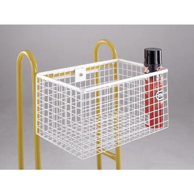 Hook-on Wire Basket for Steptek Warehouse Steps