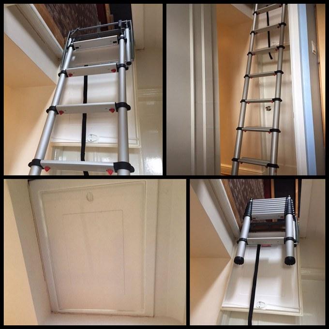 Jason's Telesteps 60324 Loft Ladder