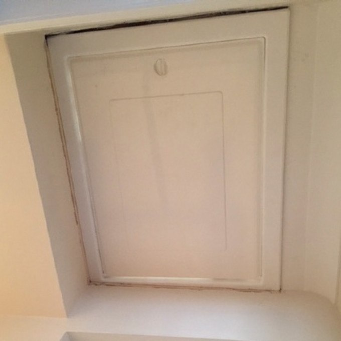 Jason's Drop Down Loft Access Hatch