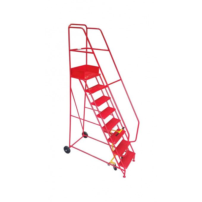 Klime-ezee Industrial Mobile Warehouse Steps  - 8 Tread