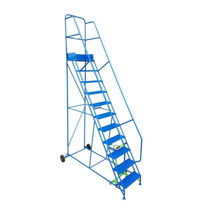 Klime-ezee Industrial Mobile Warehouse Steps - 11 Tread