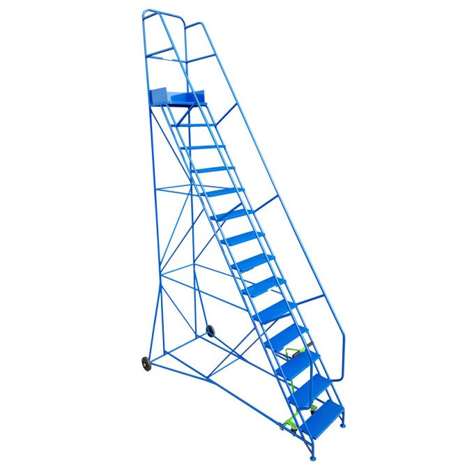 Klime-ezee Industrial Mobile Warehouse Steps - 14 Tread