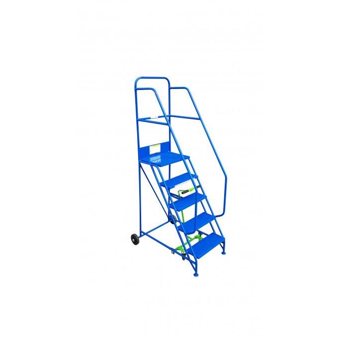 Klime-ezee Industrial Mobile Warehouse Steps - 5 Tread