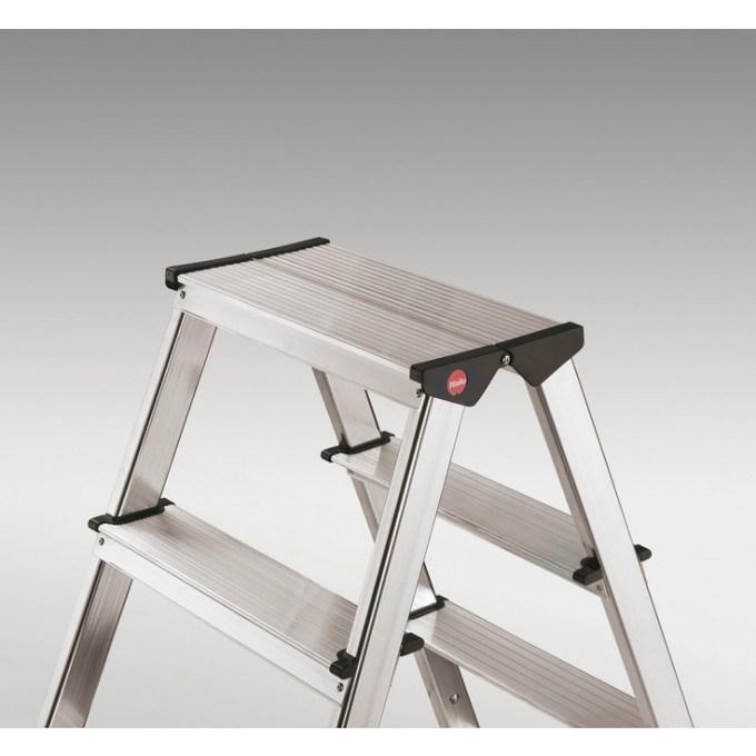 Hailo L90 Step Ladders - 5 Tread