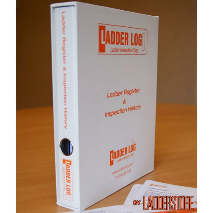 Ladderstore Ladder Log A4 Ladder Register & Inspection History Folder