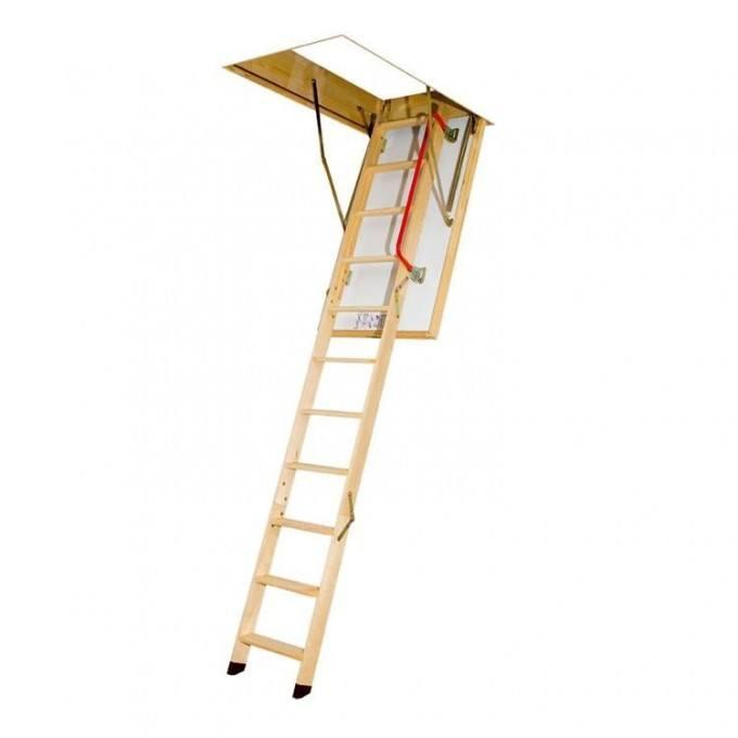 Fakro LTK Energy Efficient 3 Section Wooden Loft Ladder Kit