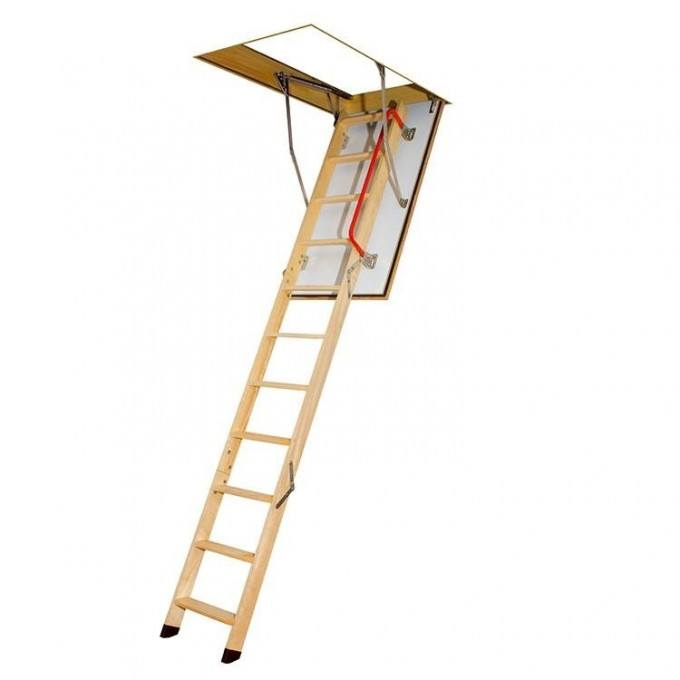 Fakro LWF 280 Timber Fire Resistant Loft Ladder With Hatch