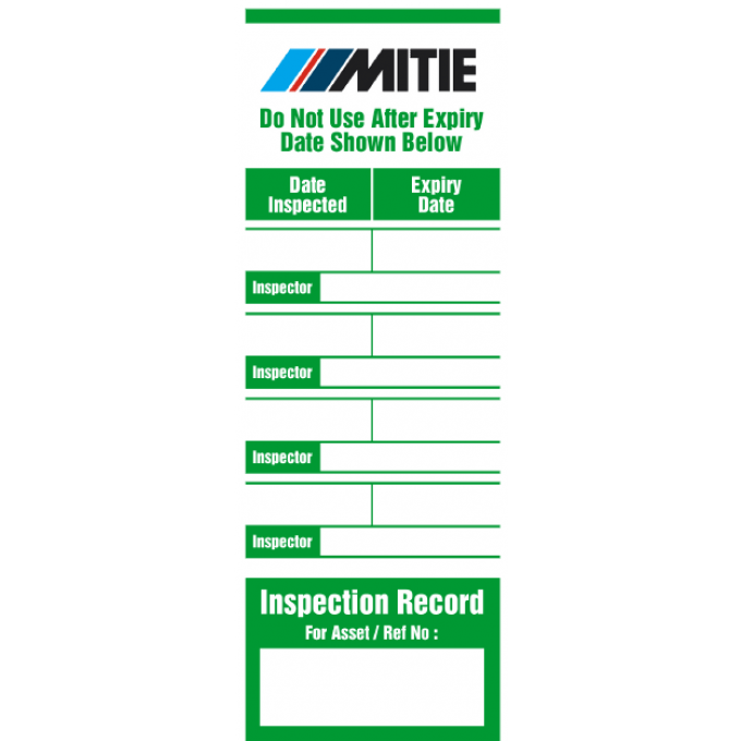 Personalised Ladder Log Tag for MITIE