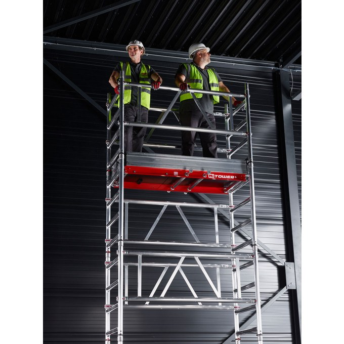 MiTower+ One Man Scaffold Tower - 6 m