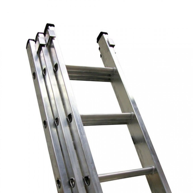 Lyte EN131 Professional Heavy Duty Extension Ladders 3 Section