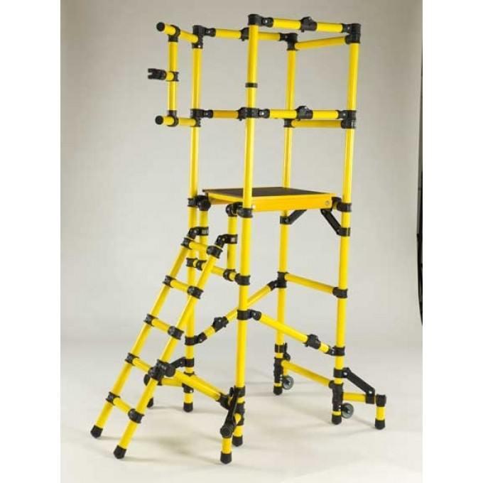 Low Level GRP Fibreglass Platform / Podium With 1.25 m Platform Height