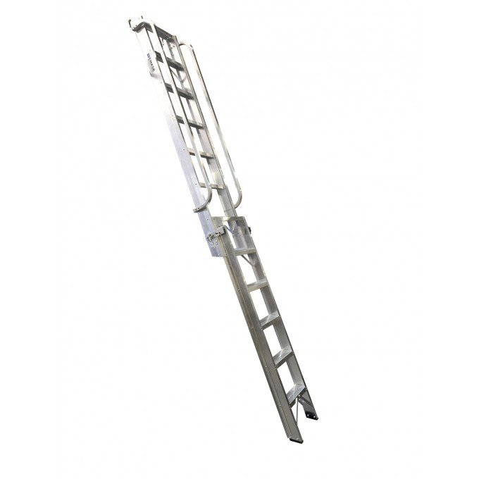 Portable-loft-ladder-open