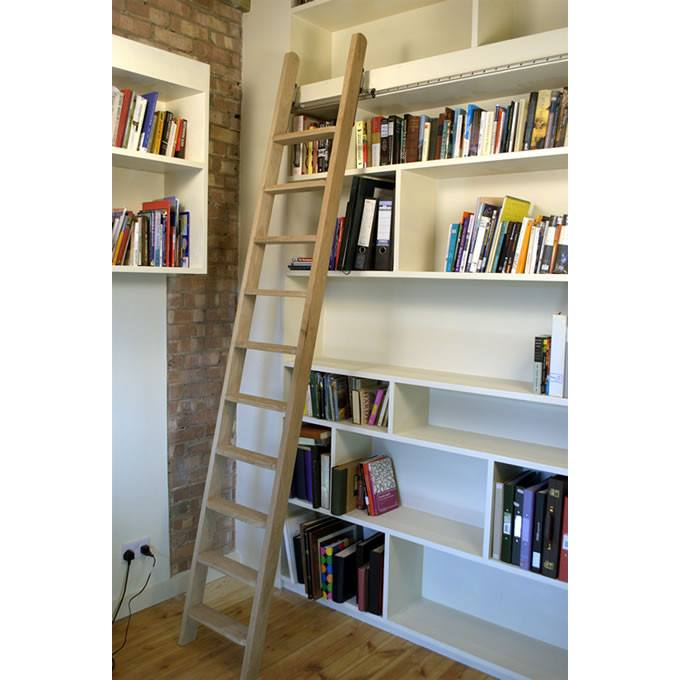 Rolling ladders are ideally suited to access shelving units