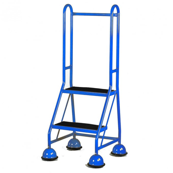 Steptek Single Sided Mobile 2 Step - Blue
