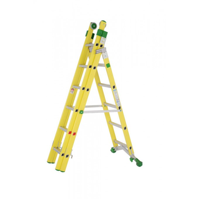 Industrial Fibreglass Combination Ladders