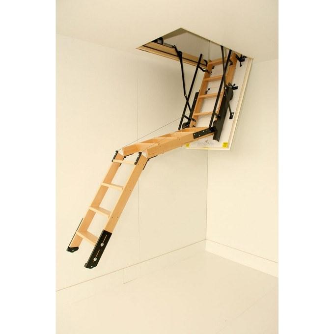 Skylark Electric Foldaway Loft Ladders unfolding more