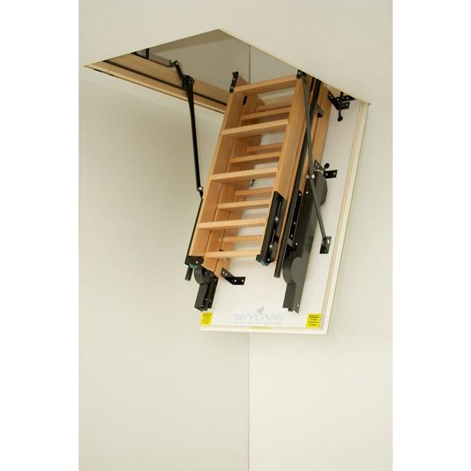 Skylark Electric Foldaway Loft Ladders folded