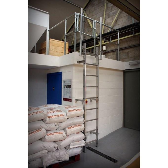 Brewery Bespoke Vertical Fixed Access Ladder