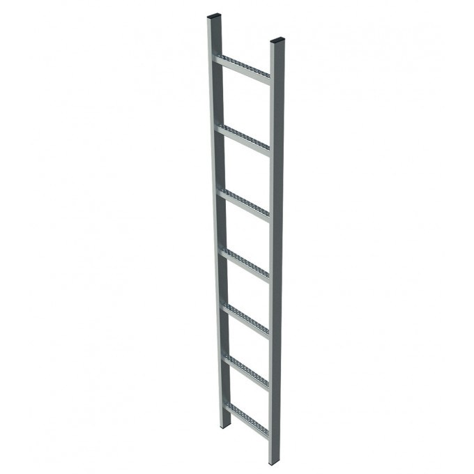 Zarges Glassfibre Stainless Steel Shaft Ladder