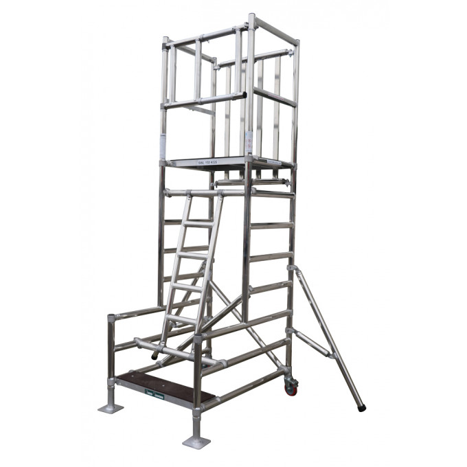 Stepfold BS8620 Certified Aluminium Podium