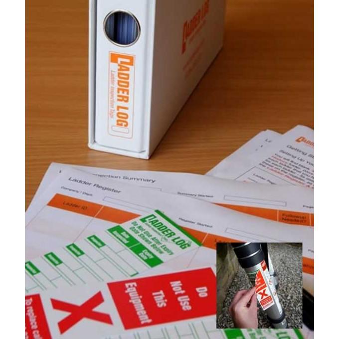 Ladderstore Ladder Log Sticker Small Business Pack
