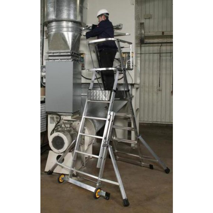 Youngman Teleguard Platform Ladder