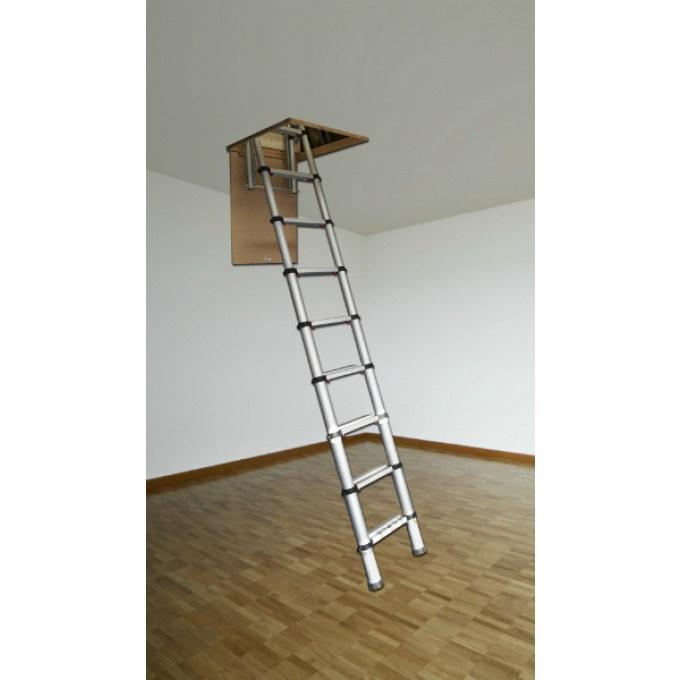 Youngman Telescopic Loft Ladder - 2.6m