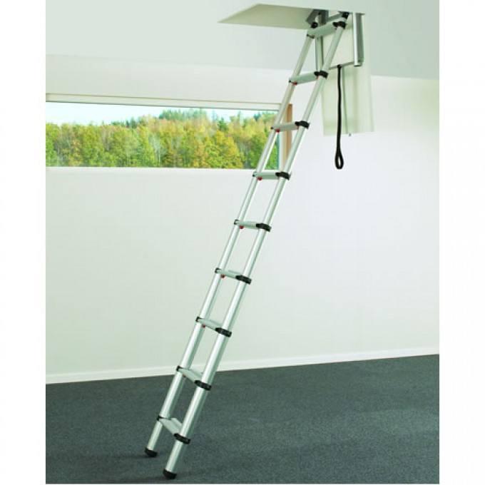 Telesteps 60324 Telescopic Loft Ladder for Small Hatch Sizes