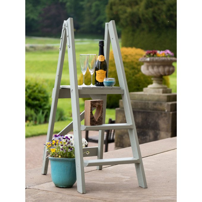 W H Hulley Heritage Wooden Step Ladders
