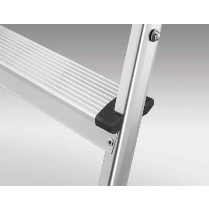 Hailo Stepke Aluminium Folding Steps - 2 x 2 Step Tread