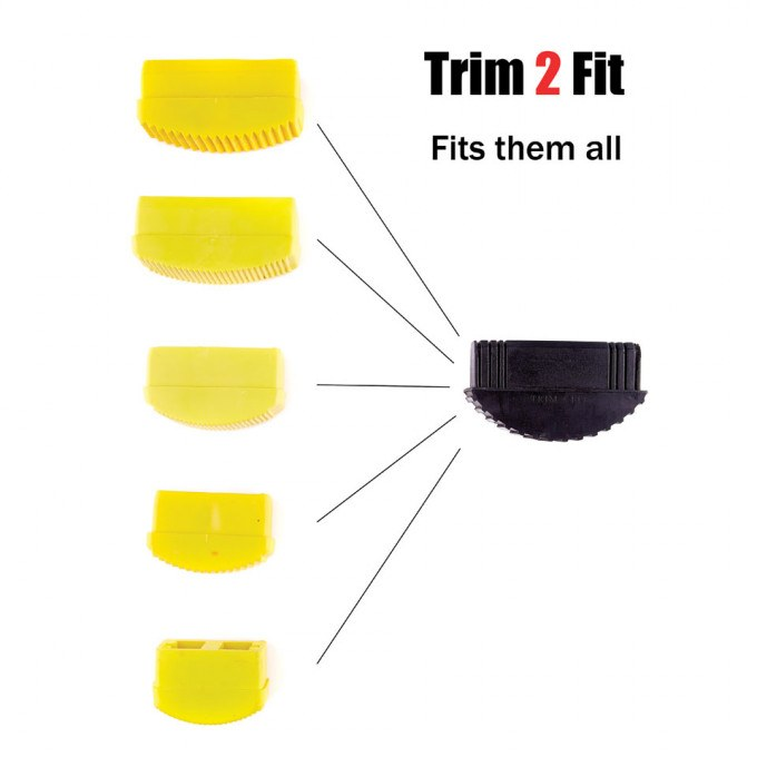 Trim 2 Fit Replacement Ladder Feet (PAIR) fits them all