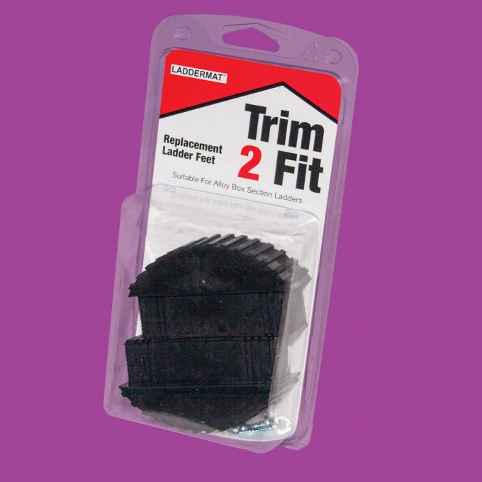 Trim 2 Fit Replacement Ladder Feet (PAIR) packaging