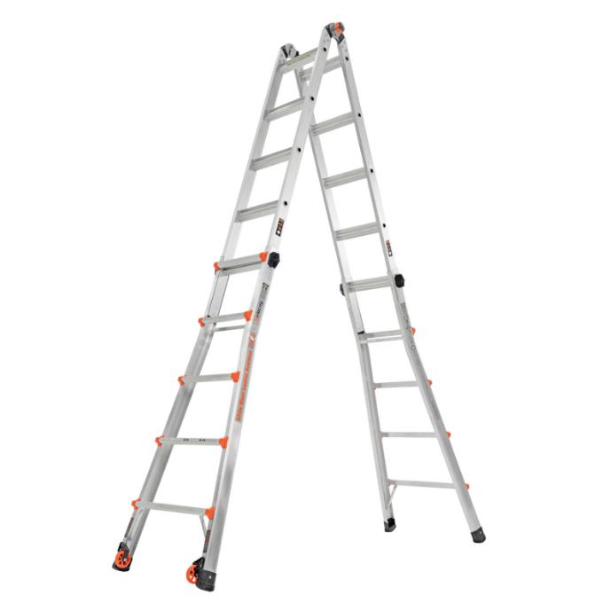 Little Giant Velocity Multi-Purpose Ladder 4 x 5 - extended full high step ladder