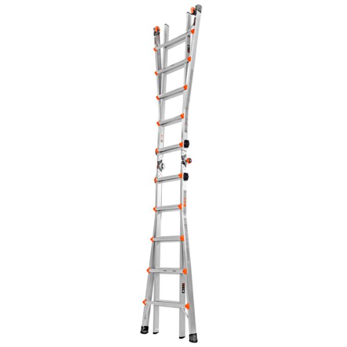Little Giant Velocity Multi-Purpose Ladder 4 x 5 - extension ladder