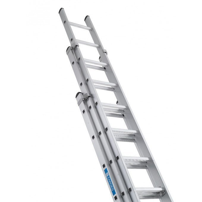 Zarges Z600 3 Section Extension Ladders