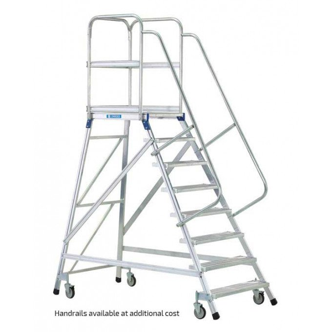 Z600 Warehouse Step with Handrails