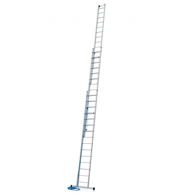 Zarges Z300 3 Section Rope Operated Extension Ladder