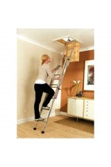 Youngman Easiway Aluminium Loft Ladder - 3 Section