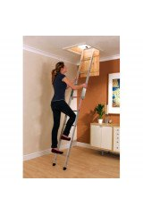 Youngman Spacemaker Aluminium Loft Ladder - 2 Section