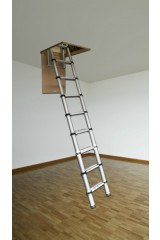 Youngman Telescopic Loft Ladder - 2.9m
