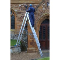 Zarges 3 Part Trade Skymaster Ladder - 3 x 9 rungs