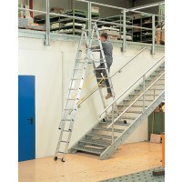 Zarges Skymaster 3 Part Industrial Ladders