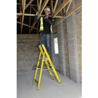 Youngman S400 Glass Fibre Platform Stepladders
