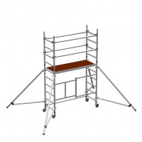Zarges Reachmaster 3T Mobile Scaffold Tower with Stabilisers - Platform Height 1.7 m