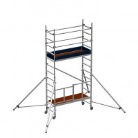 Zarges Reachmaster 3T Mobile Scaffold Tower with Stabilisers - Platform Height 2.5 m