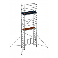Zarges Reachmaster 3T Mobile Scaffold Tower with Stabilisers - Platform Height 4.5 m