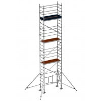 Zarges Reachmaster 3T Mobile Scaffold Tower with Stabilisers - Platform Height 6.5 m