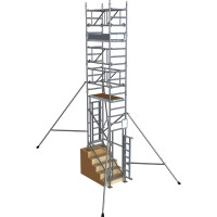 BoSS StairMAX 700 Guardrail Access Tower - 5 m Platform Height