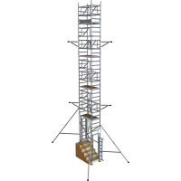 BoSS StairMAX 700 Guardrail Access Tower - 9 m Platform Height