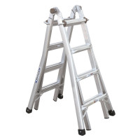 Werner Telecsopic Combination Ladder Stepladder